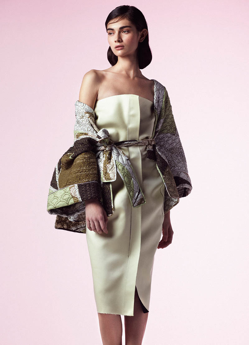 AntoninaTank9 Antonina Vasylchenko Poses for Toby Knott In Ladylike Fashions for Tank Spring 2013