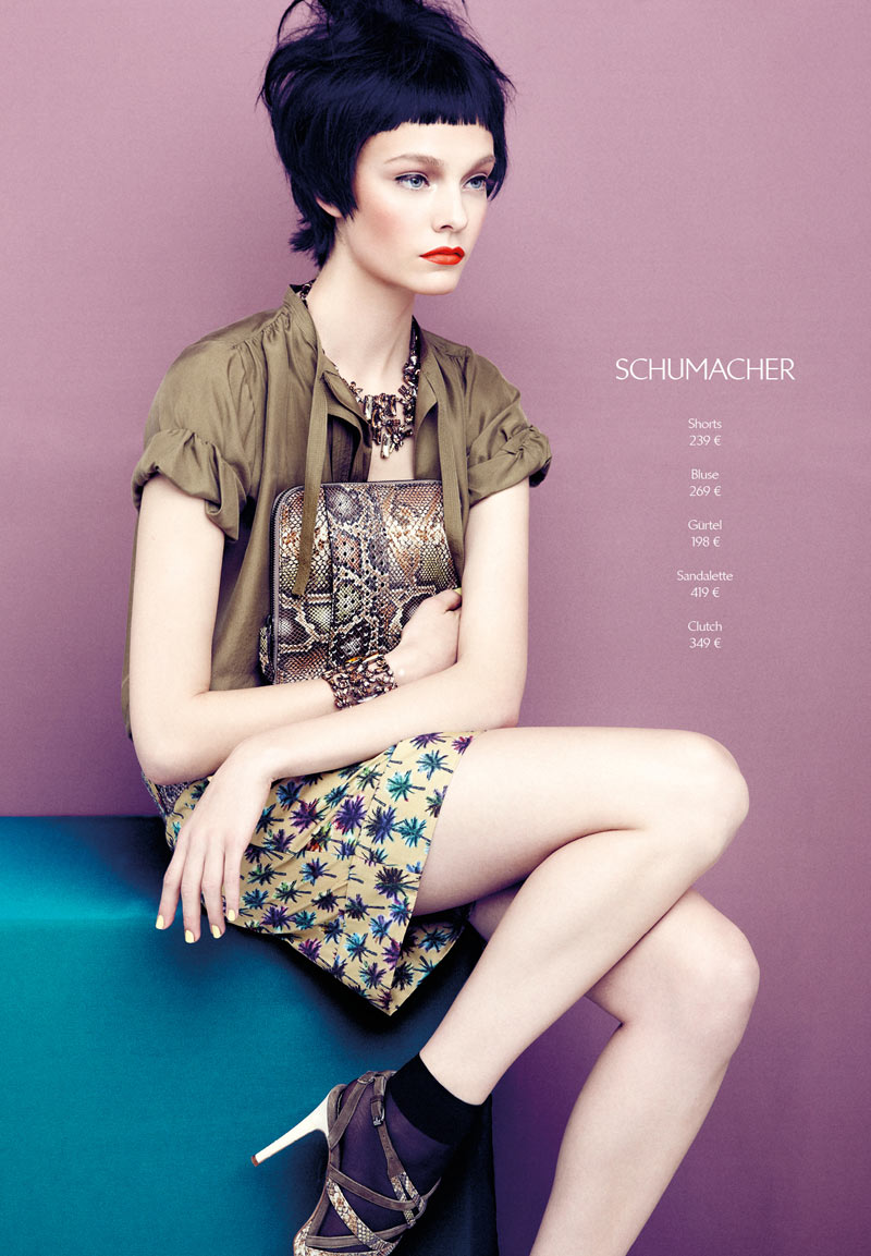 AproposJournalNimueSmit3 Nimue Smit Dons Retro Shades for Apropos Journal Spring/Summer 2013