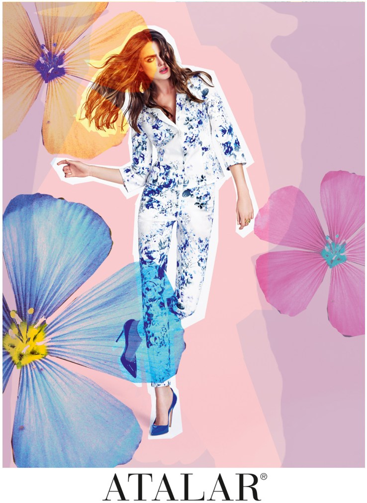 AtalarSpring5 Sophie Vlaming is in Bloom for Atalars Spring 2013 Campaign by Nihat Odabasi