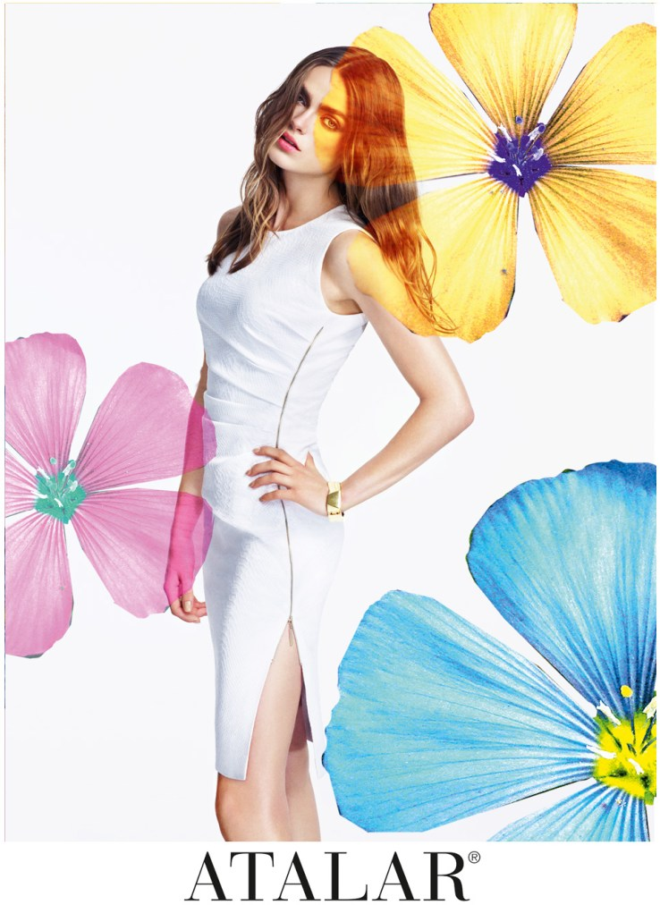 AtalarSpring6 Sophie Vlaming is in Bloom for Atalars Spring 2013 Campaign by Nihat Odabasi