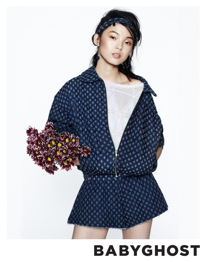 BabyGhostSpring3 Xiao Wen Ju Fronts Babyghosts Spring 2013 Campaign by Aingeru Zorita