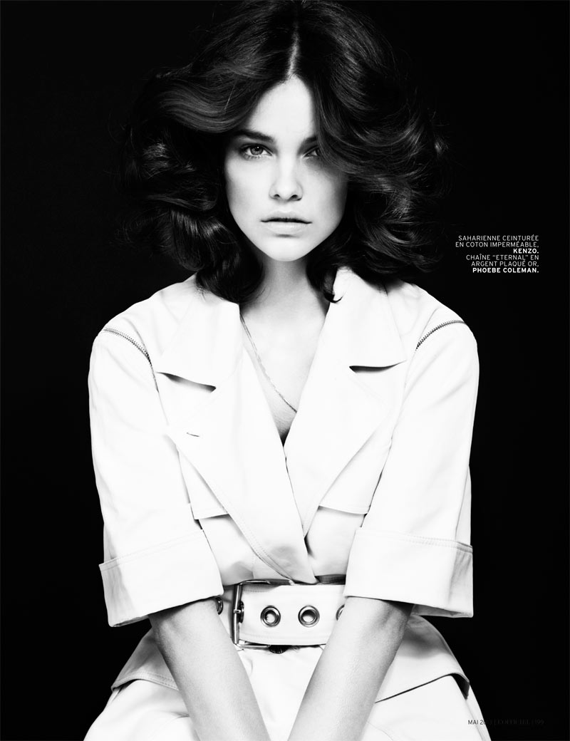 Barbara Palvin Shines in L'Officiel Paris May 2013 by Cuneyt Akeroglu