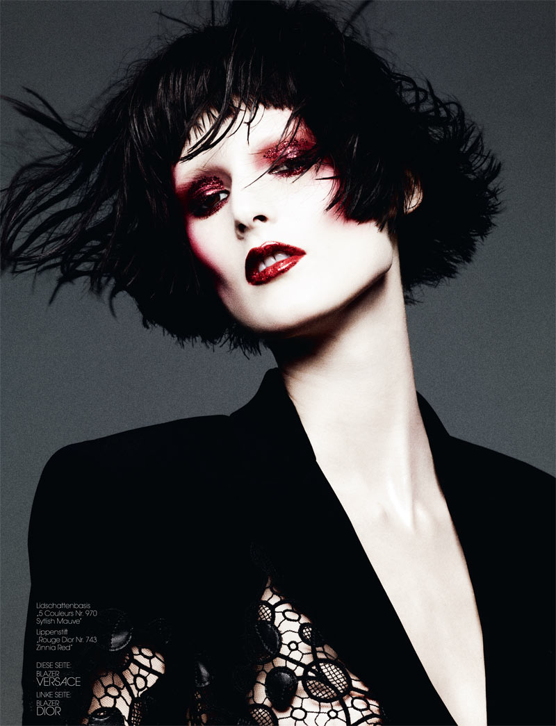 BenHassettInterview2 Marie Piovesan Poses for Ben Hassett in Interview Germanys May Issue