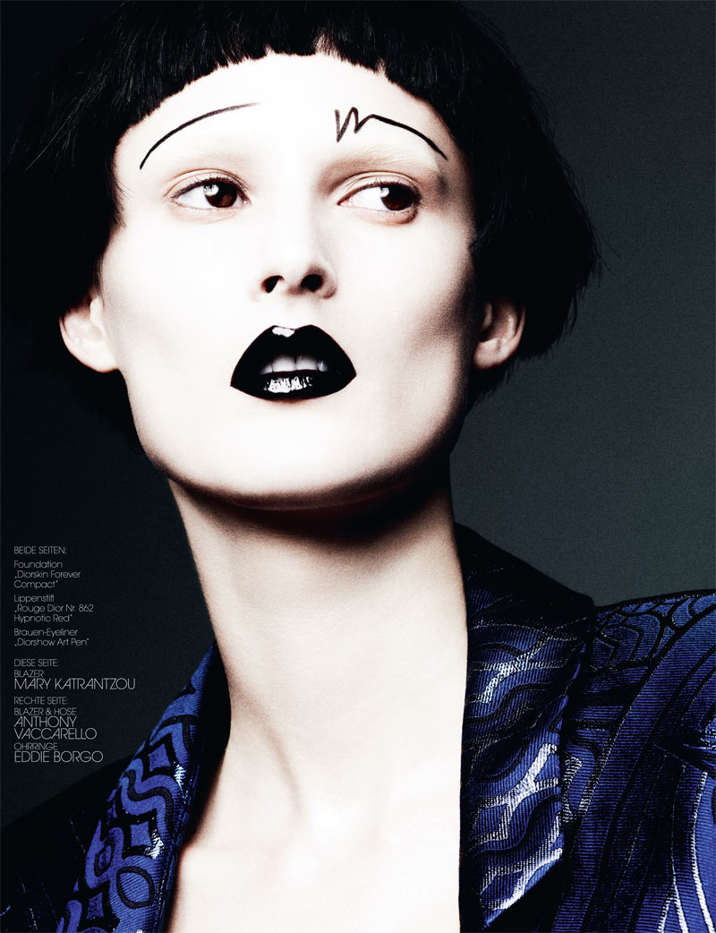 BenHassettInterview4 Marie Piovesan Poses for Ben Hassett in Interview Germanys May Issue