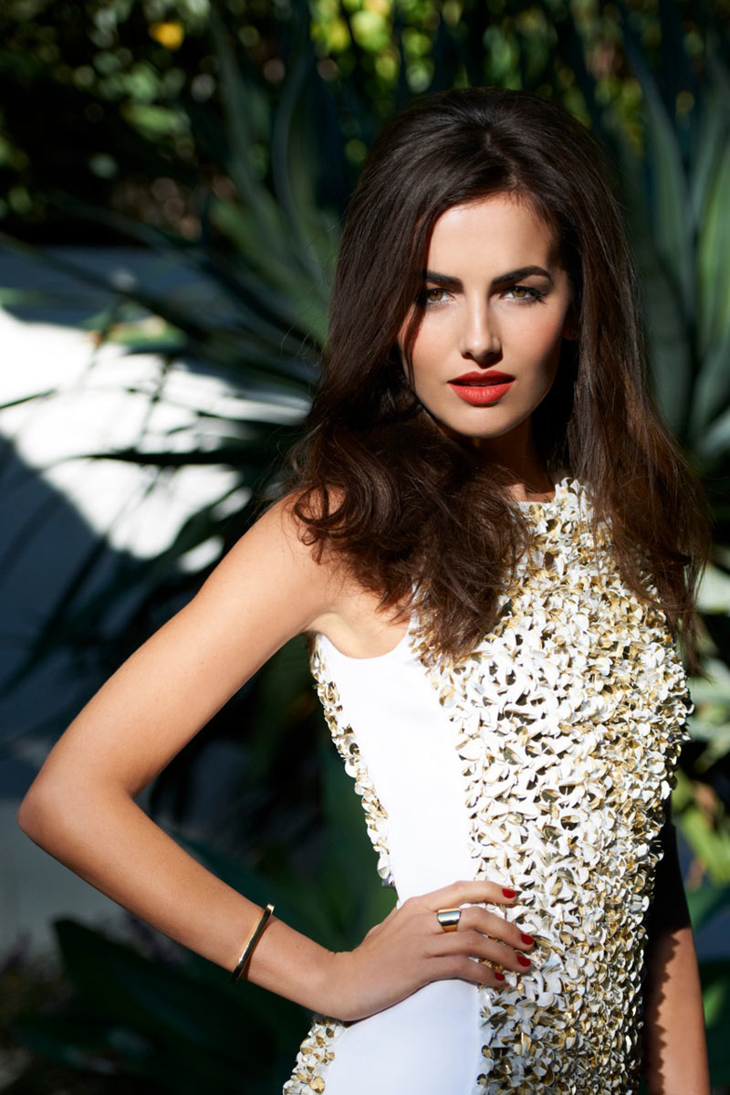 CamillaBelle0 Camilla Belle Wears Michael Kors for Vogue Brazil April 2013 by Eric Guillemain