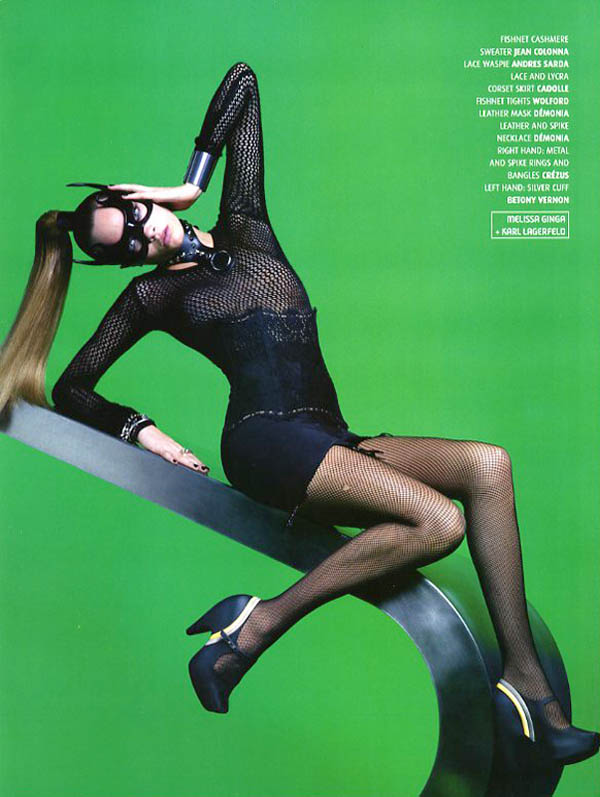 CaraMelissaKarlLagerfeld4 Cara Delevingne is A Shoe Vixen for Karl Lagerfeld In Melissa Magazine Winter 2013
