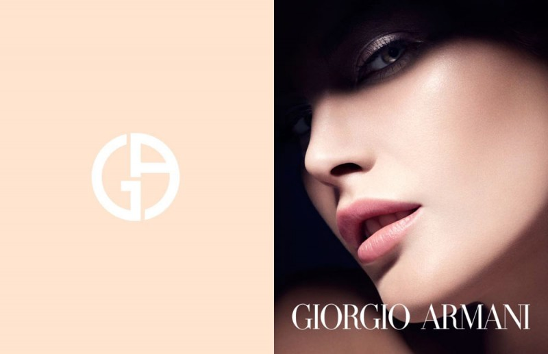 CatherineMcNeilArmani2 800x517 Catherine McNeil Stuns in Giorgio Armani Beauty Spring 2013 Campaign by Txema Yeste