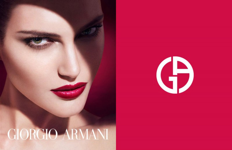 CatherineMcNeilArmani3 800x517 Catherine McNeil Stuns in Giorgio Armani Beauty Spring 2013 Campaign by Txema Yeste