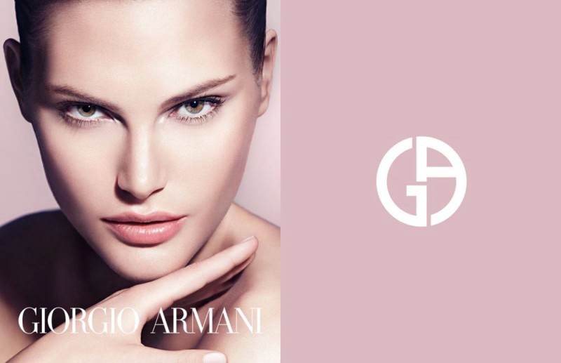 CatherineMcNeilArmani4 800x517 Catherine McNeil Stuns in Giorgio Armani Beauty Spring 2013 Campaign by Txema Yeste