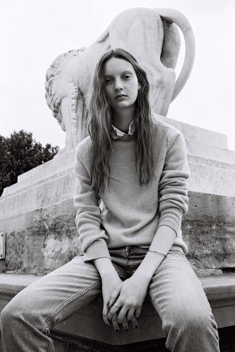 CodieYoungLoveWantShoot1 Codie Young Hits Paris for Love Want Magazine by Gen Kay