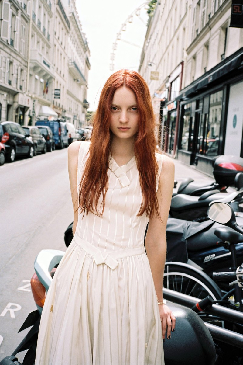 CodieYoungLoveWantShoot11 Codie Young Hits Paris for Love Want Magazine by Gen Kay