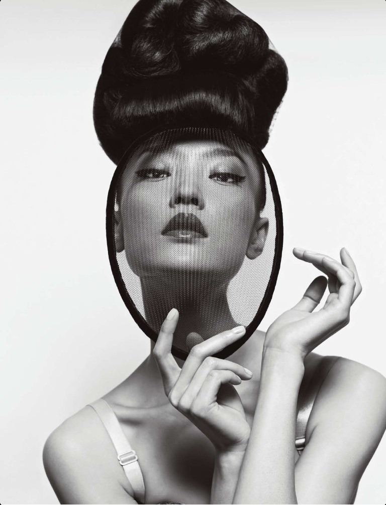 DuJuanNumeroChina2 Du Juan Models Dior for Yin Chao in Numéro China April 2013