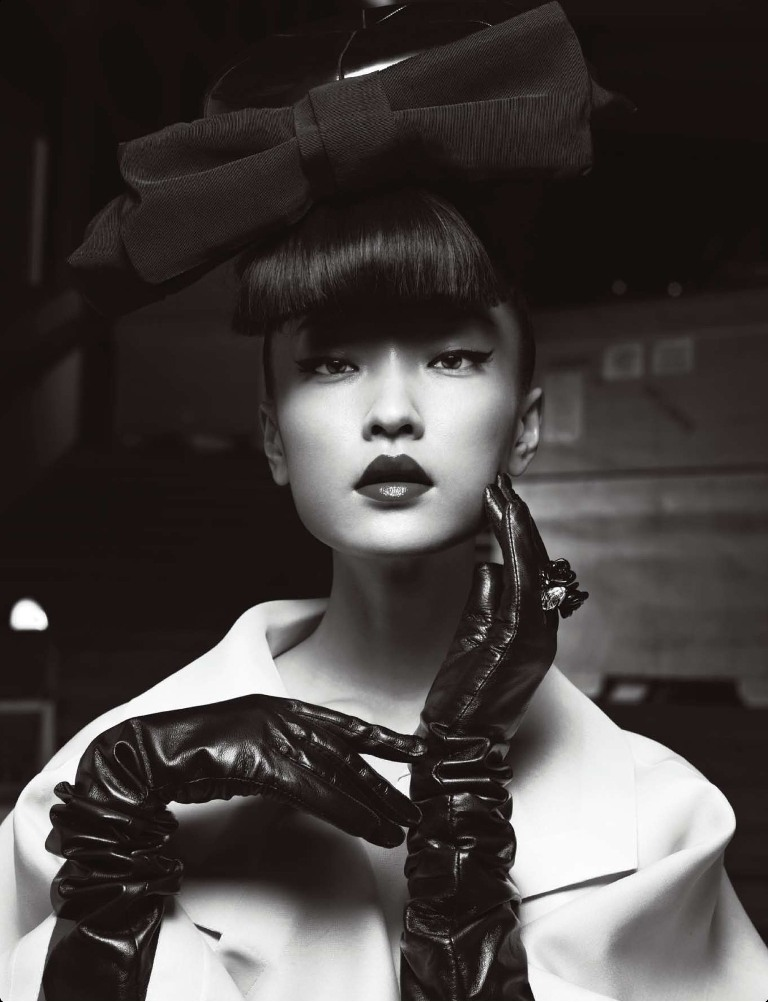 DuJuanNumeroChina8 Du Juan Models Dior for Yin Chao in Numéro China April 2013