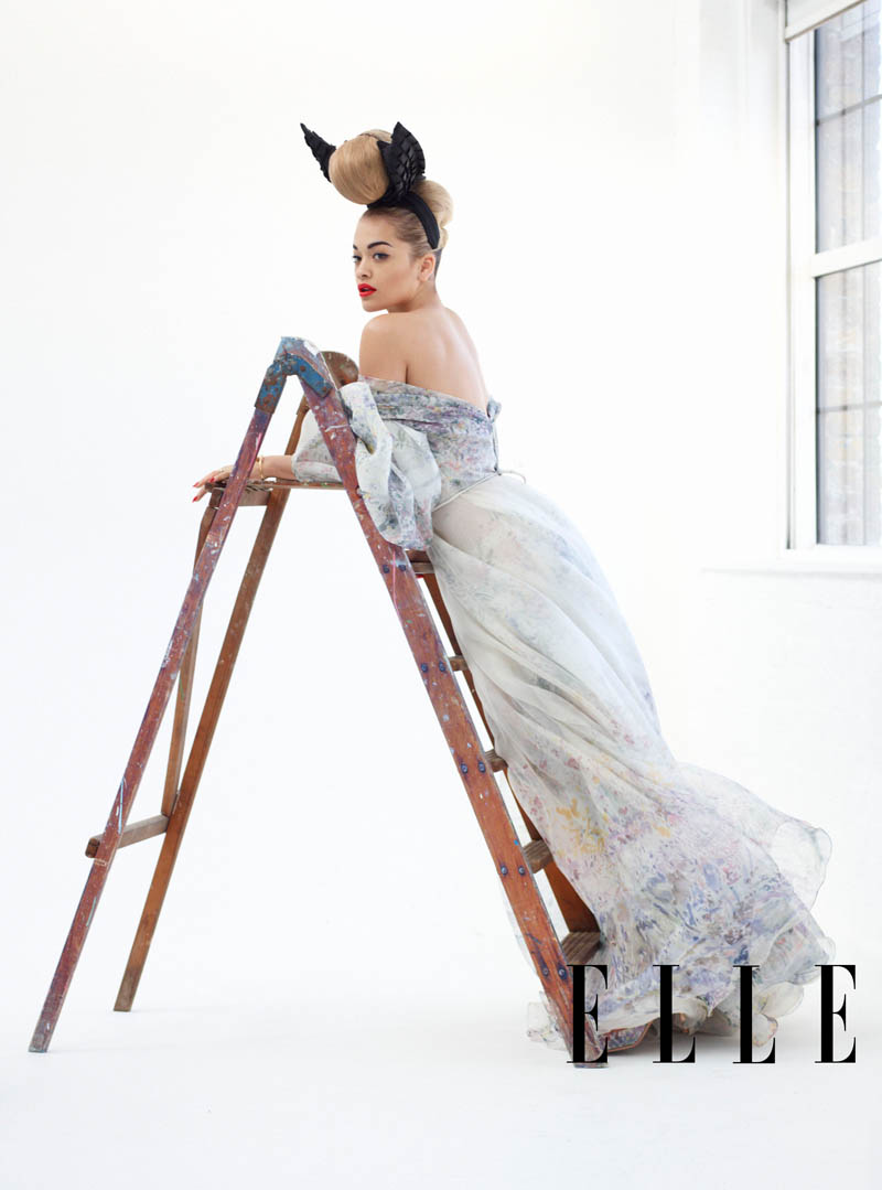 ELLE WIM May Rita Ora 1 Rita Ora Gets Glam for Elle US May 2013 by Thomas Whiteside