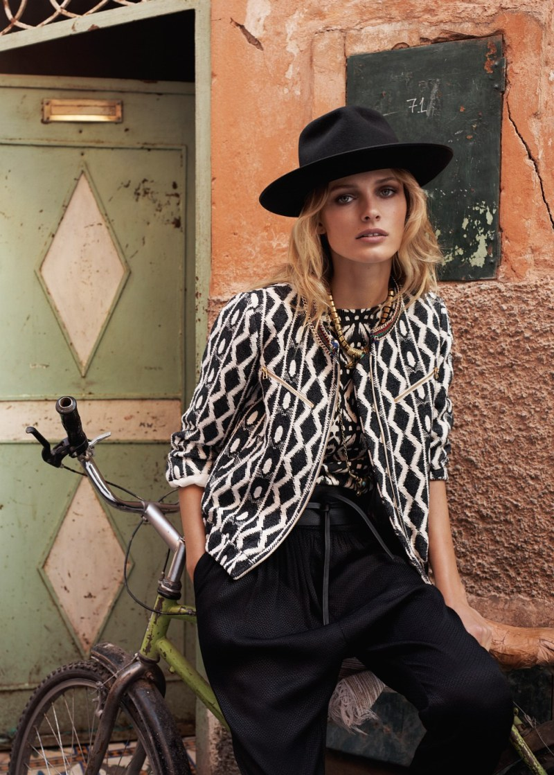 EditaMangoLB10 Edita Vilkeviciute Has a Stylish Summer for Mangos New Catalogue