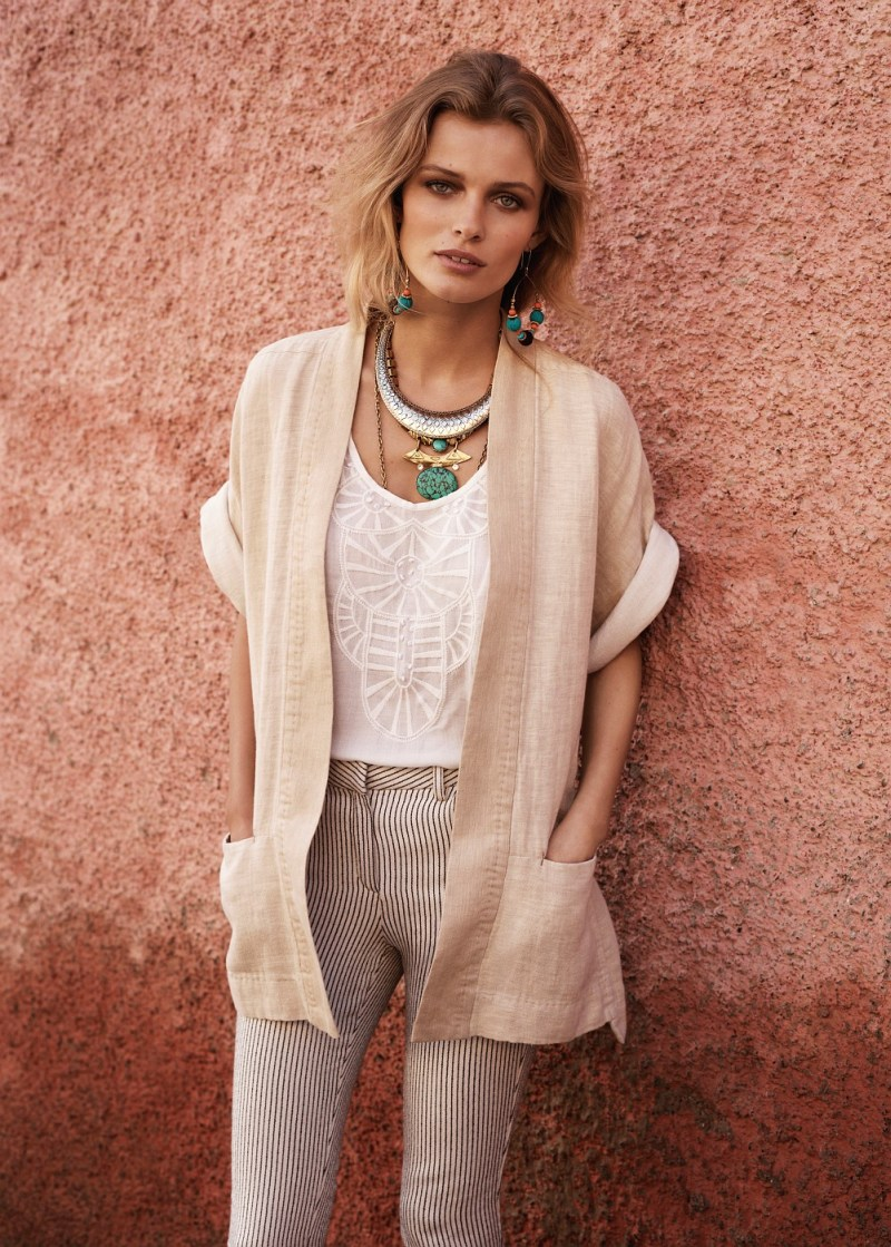 EditaMangoLB11 Edita Vilkeviciute Has a Stylish Summer for Mangos New Catalogue