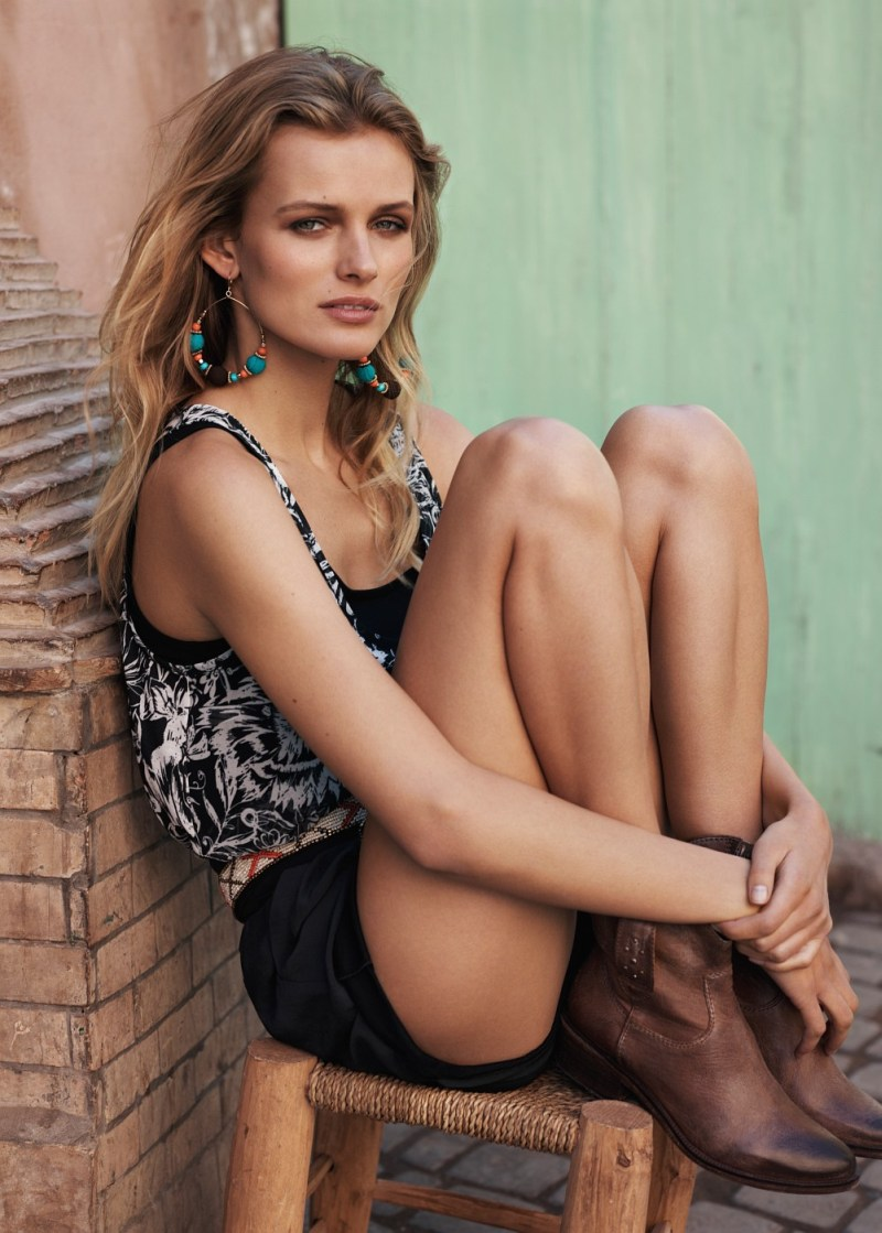 EditaMangoLB12 Edita Vilkeviciute Has a Stylish Summer for Mangos New Catalogue