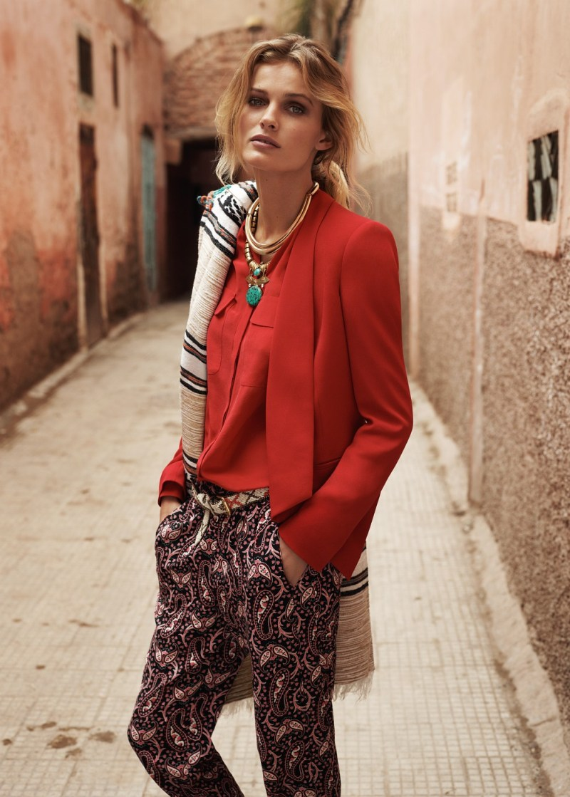 EditaMangoLB13 Edita Vilkeviciute Has a Stylish Summer for Mangos New Catalogue
