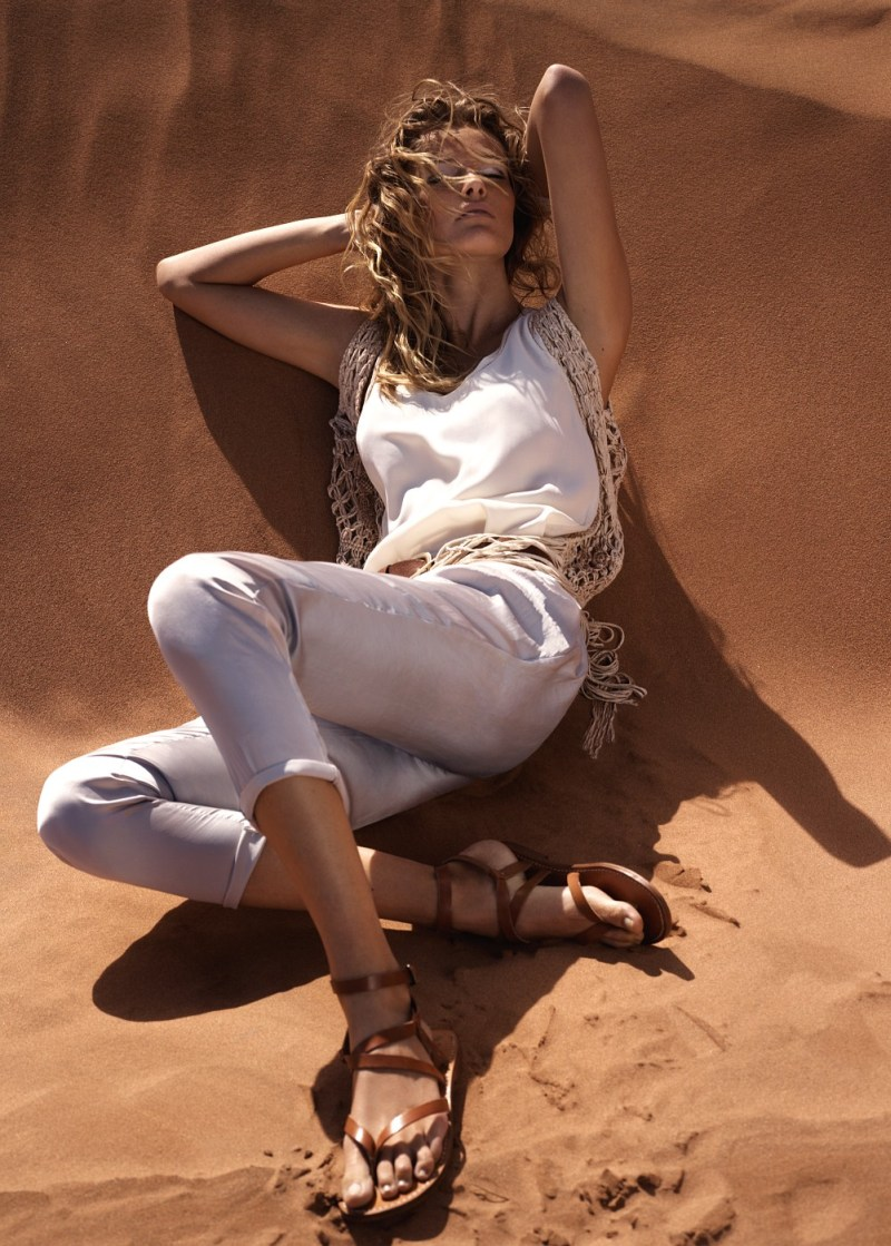 EditaMangoLB5 Edita Vilkeviciute Has a Stylish Summer for Mangos New Catalogue