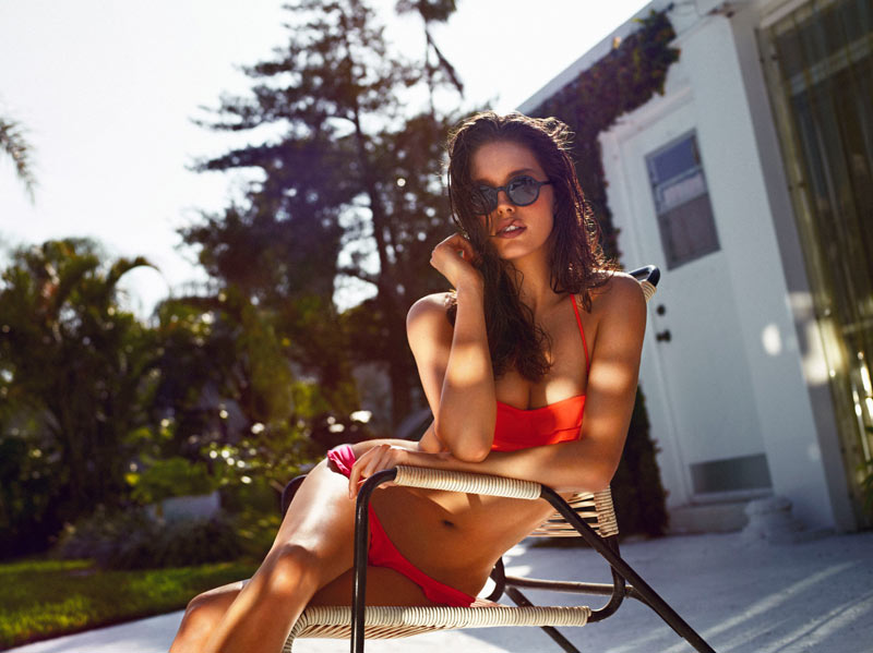 Emily DiDonato Oysho1 Emily DiDonato Sizzles in Oysho Swimwear 2013 Campaign by Matteo Montanari