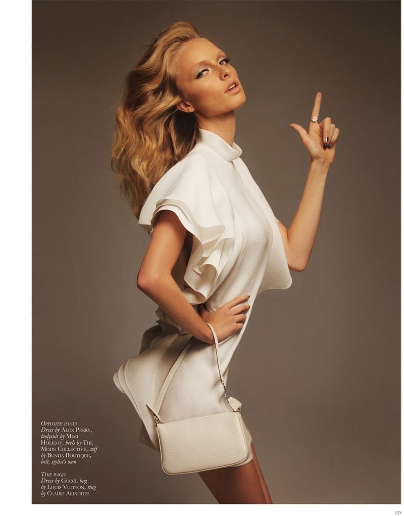 Thom Kerr Shoots Eva Downey for Black Magazine Fashion Feature