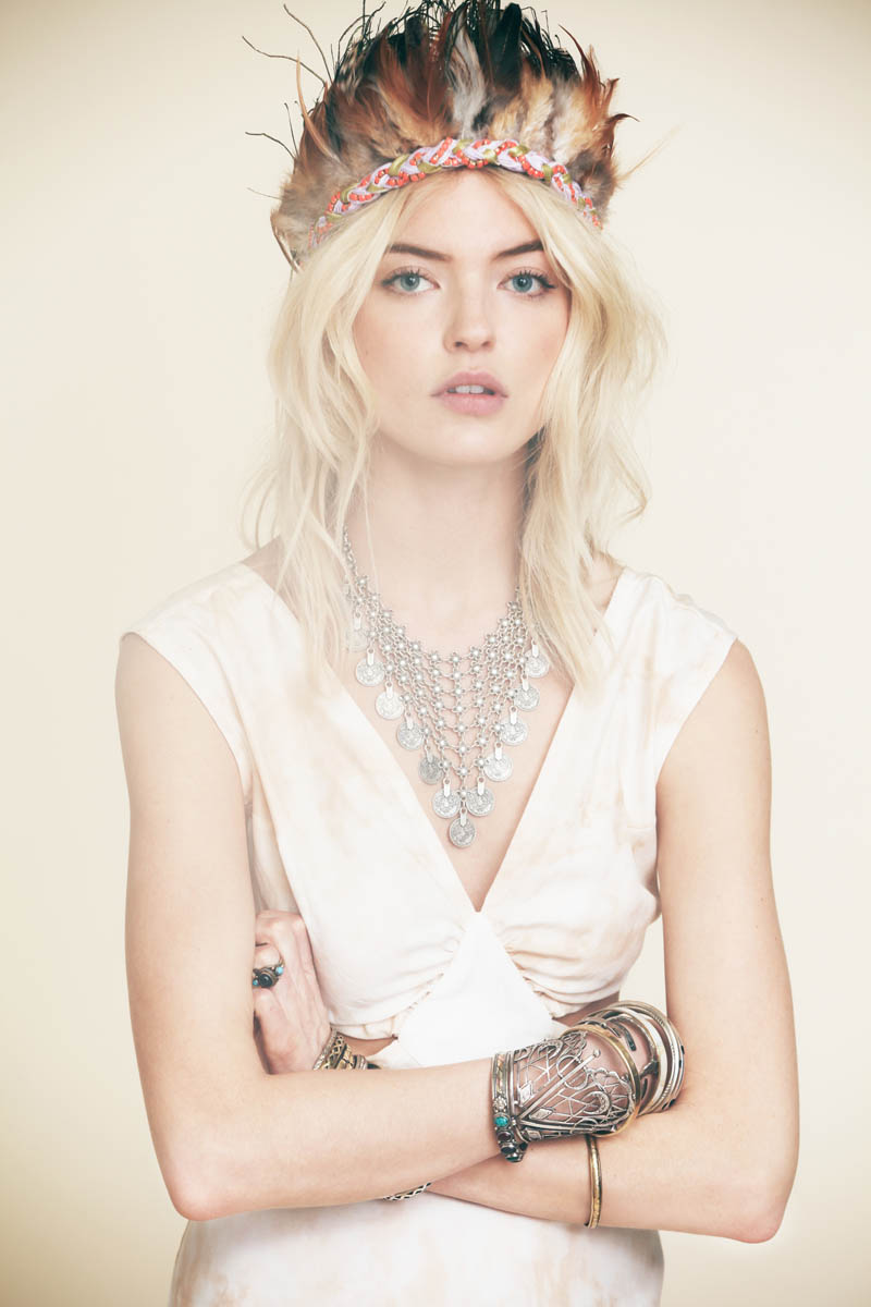 FestivalFreePeople9 Martha Hunt is Ready for Festival Season in Free Peoples New Lookbook