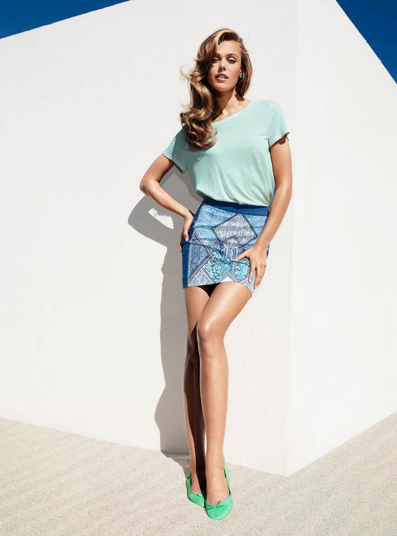 FridaHM3 Frida Gustavsson Models H&Ms Spring Looks