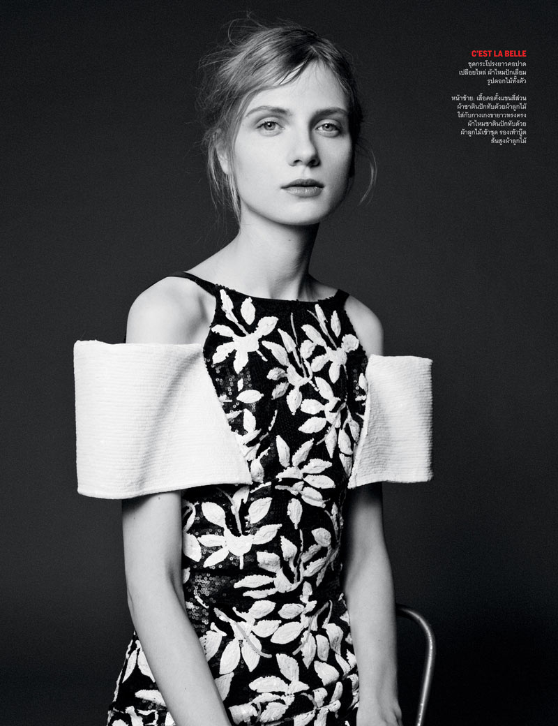 From Here to Eternity4 Ward Ivan Rafik Shoots Chanel Haute Couture for Vogue Thailands April Issue
