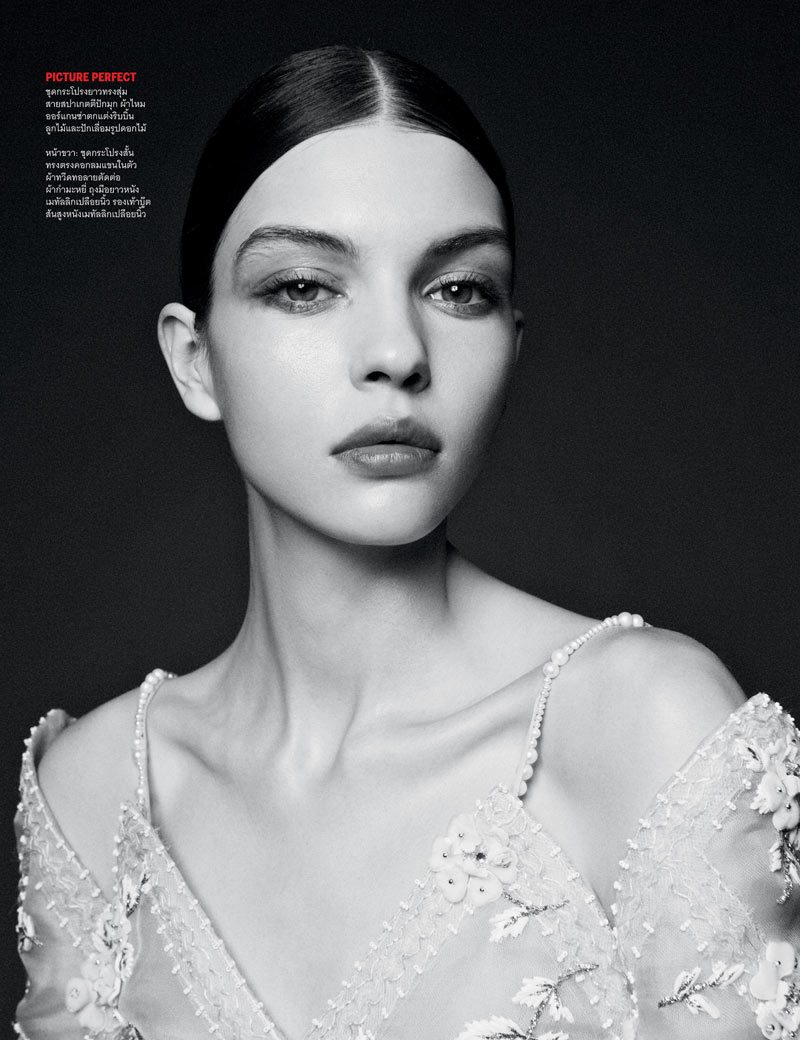 From Here to Eternity5 Ward Ivan Rafik Shoots Chanel Haute Couture for Vogue Thailands April Issue