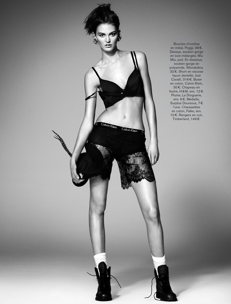 GLAMOUR FRANCE MAY13 01 Ali Stephens Dons Buffalo Boy Style for Glamour France's May Issue by Jason Kim
