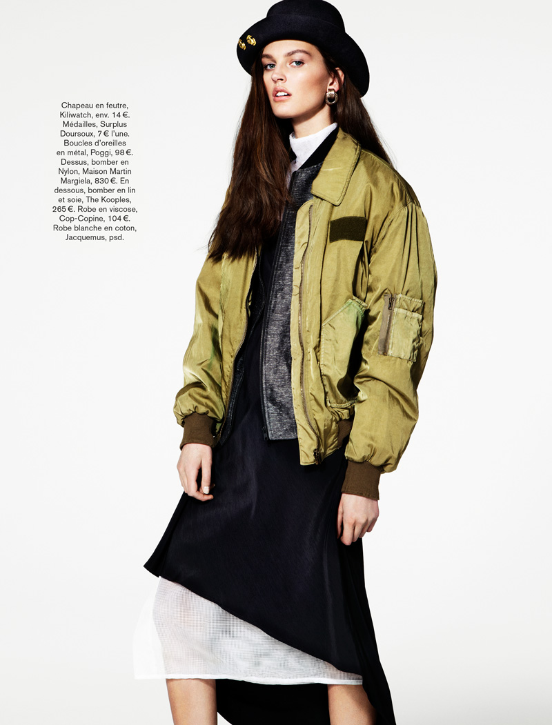 GLAMOUR FRANCE MAY13 02 Ali Stephens Dons Buffalo Boy Style for Glamour France's May Issue by Jason Kim