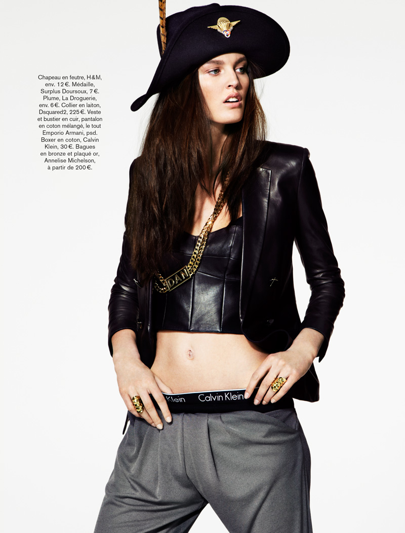 GLAMOUR FRANCE MAY13 04 Ali Stephens Dons Buffalo Boy Style for Glamour France's May Issue by Jason Kim