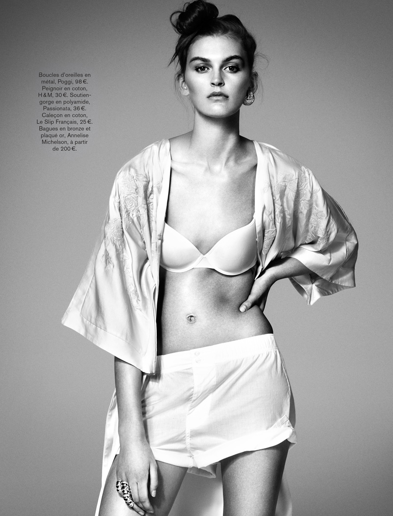 GLAMOUR FRANCE MAY13 05 Ali Stephens Dons Buffalo Boy Style for Glamour France's May Issue by Jason Kim