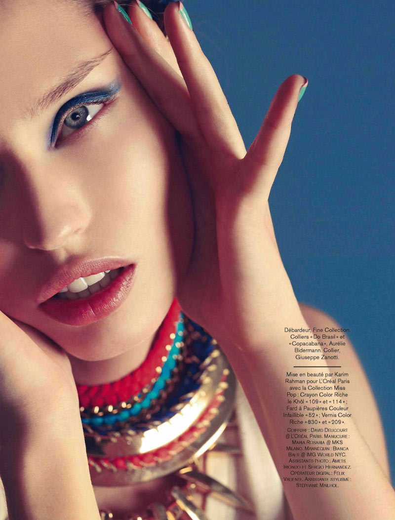 Bianca Balti Poses for Nico in Glamour France's May 2013 Cover Shoot