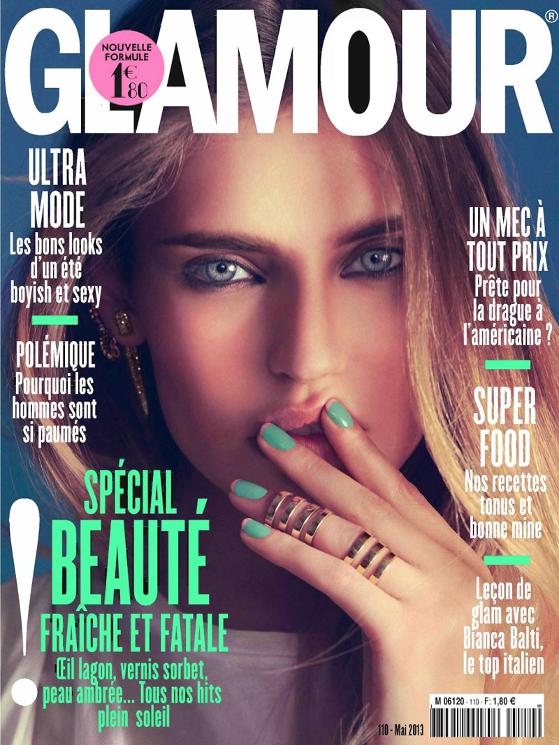 GlamourBiancaBalti8 Bianca Balti Poses for Nico in Glamour Frances May 2013 Cover Shoot