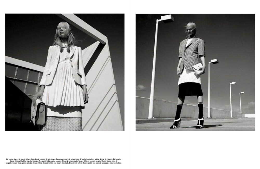 GregKadelVogueIT2 Greg Kadel Snaps Steffi Soede for Vogue Italias April Issue