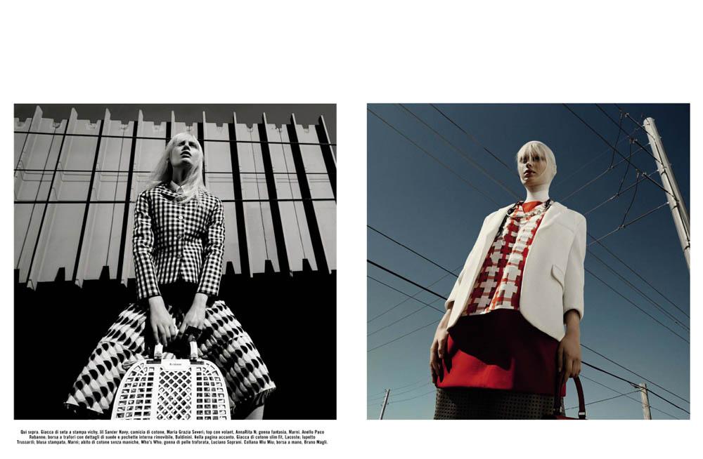 GregKadelVogueIT3 Greg Kadel Snaps Steffi Soede for Vogue Italias April Issue