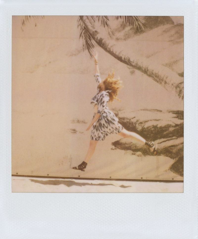 GretaBandofOutsiders1 Greta Gerwig Stars in Band of Outsiders Spring 2013 Campaign