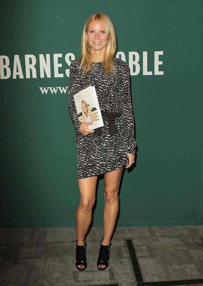 Gwyneth Paltrow Isabel Marant1 Gwyneth Paltrow Sports Isabel Marant at Her Book Signing