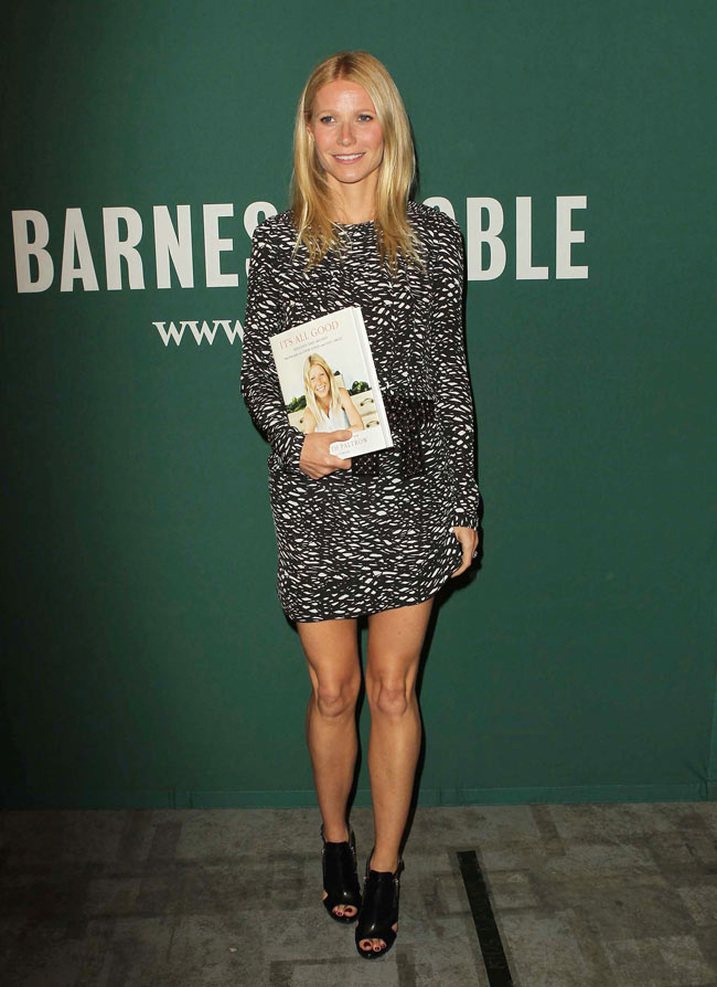 Gwyneth Paltrow Isabel Marant2 Gwyneth Paltrow Sports Isabel Marant at Her Book Signing