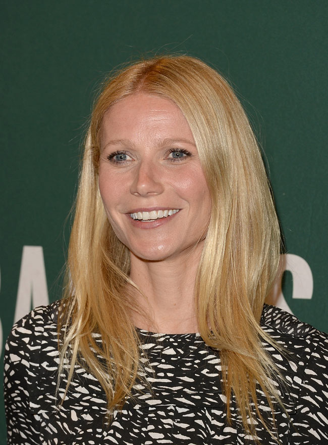 Gwyneth Paltrow Isabel Marant3 Gwyneth Paltrow Sports Isabel Marant at Her Book Signing