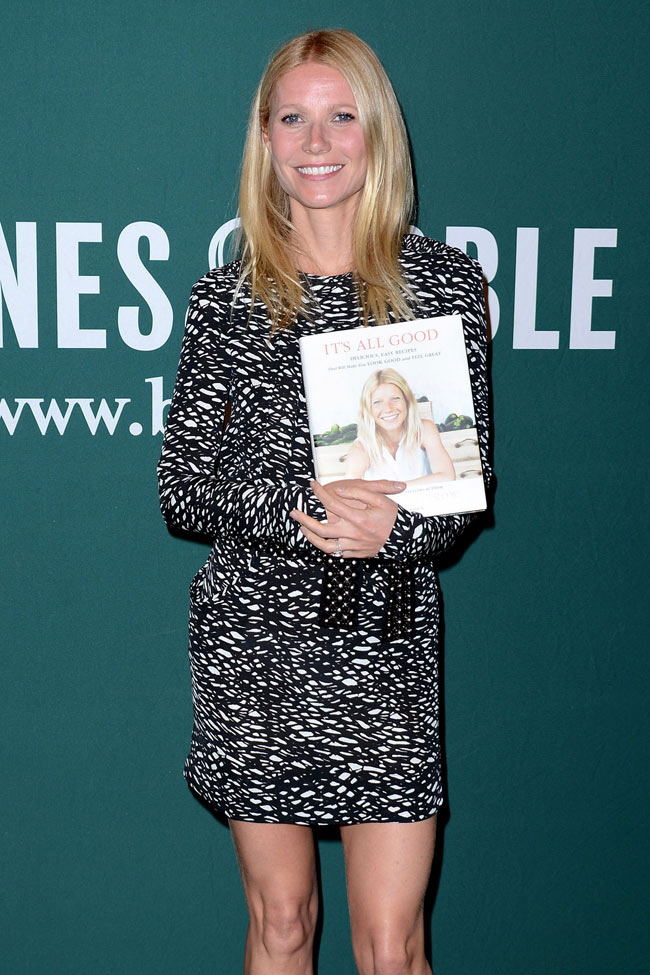 Gwyneth Paltrow Isabel Marant4 Gwyneth Paltrow Sports Isabel Marant at Her Book Signing