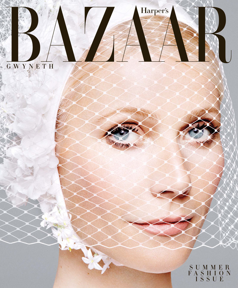 HBZ May Subscriber Cover Gwyneth Paltrow Sports Balenciaga for Harpers Bazaar US May 2013 Cover