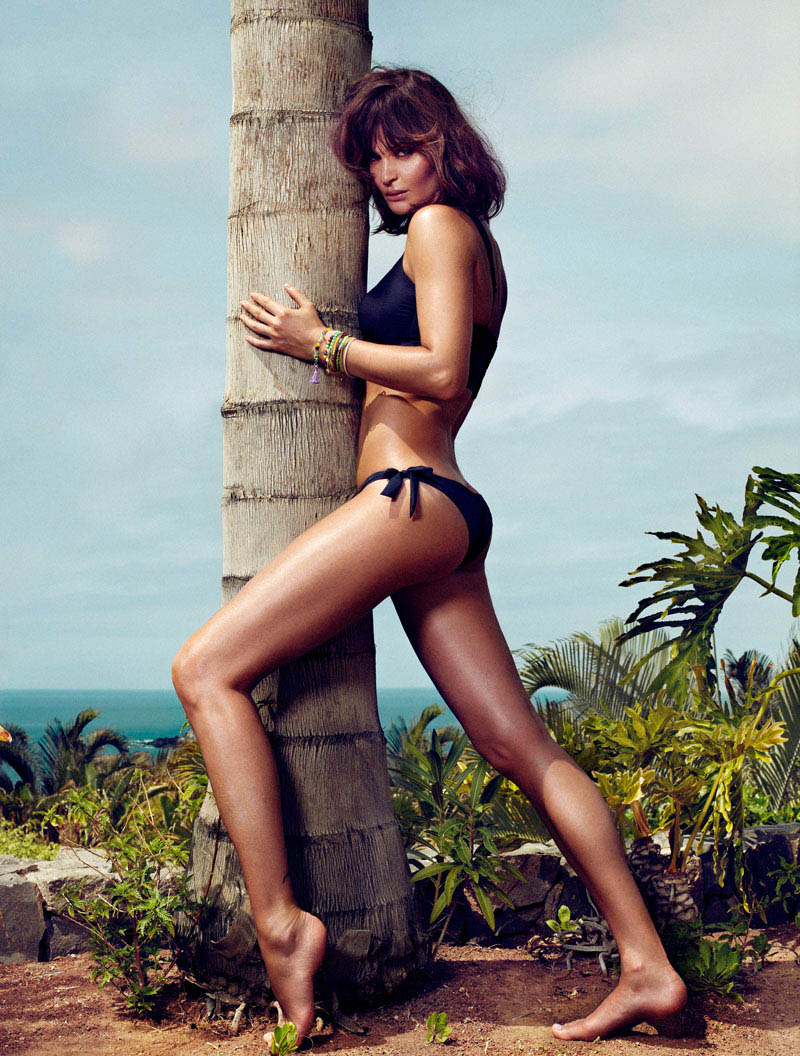 HELENA CHRISTENSEN by Xavi Gordo 26 Helena Christensen Sizzles for Xavi Gordo in Elle Spains May 2013 Cover Shoot