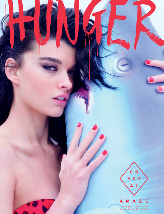 HUNGER HARDBACK RENN ISSUE4 Crystal Renn Covers Limited Edition Hunger Magazine by Rankin