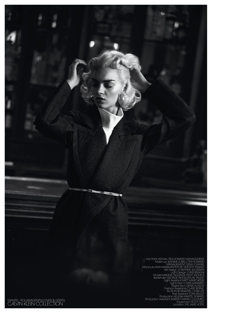 InterviewSebastianFaena10 Magda Laguinge Dons Americana Style for Interview Germany May 2013