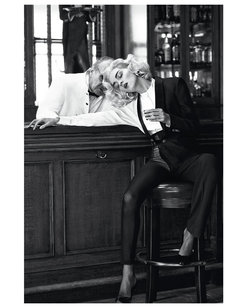 InterviewSebastianFaena2 Magda Laguinge Dons Americana Style for Interview Germany May 2013