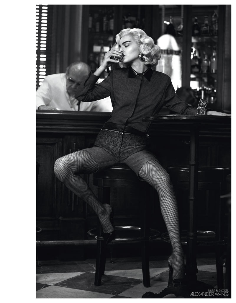 InterviewSebastianFaena6 Magda Laguinge Dons Americana Style for Interview Germany May 2013