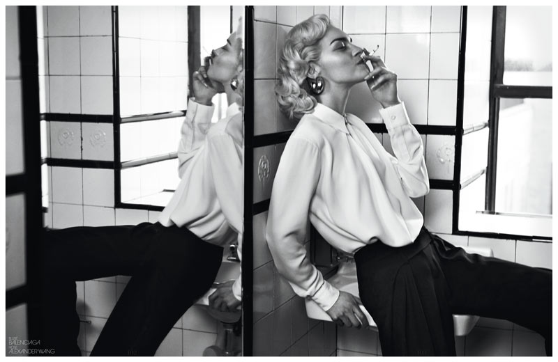 InterviewSebastianFaena7 Magda Laguinge Dons Americana Style for Interview Germany May 2013