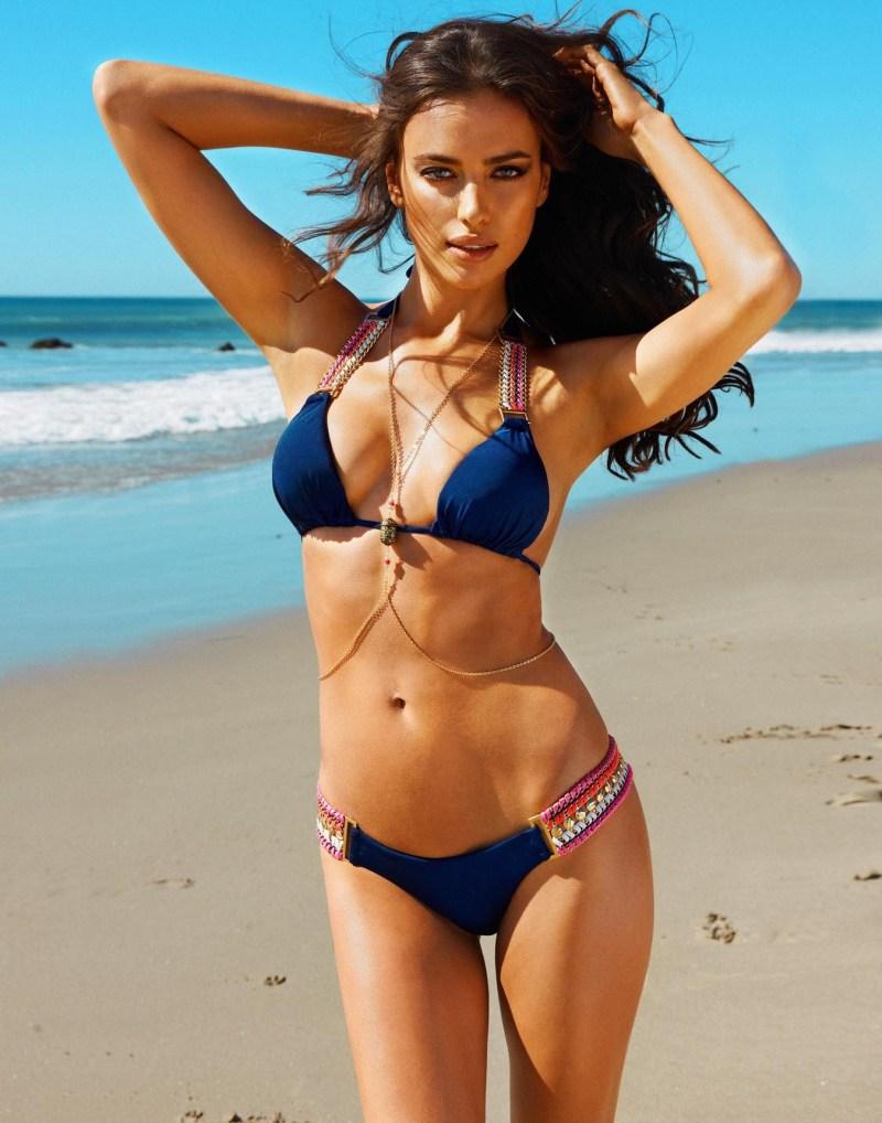 Irina Shayk Sizzles in Beach Bunny's Summer 2013 Campaign